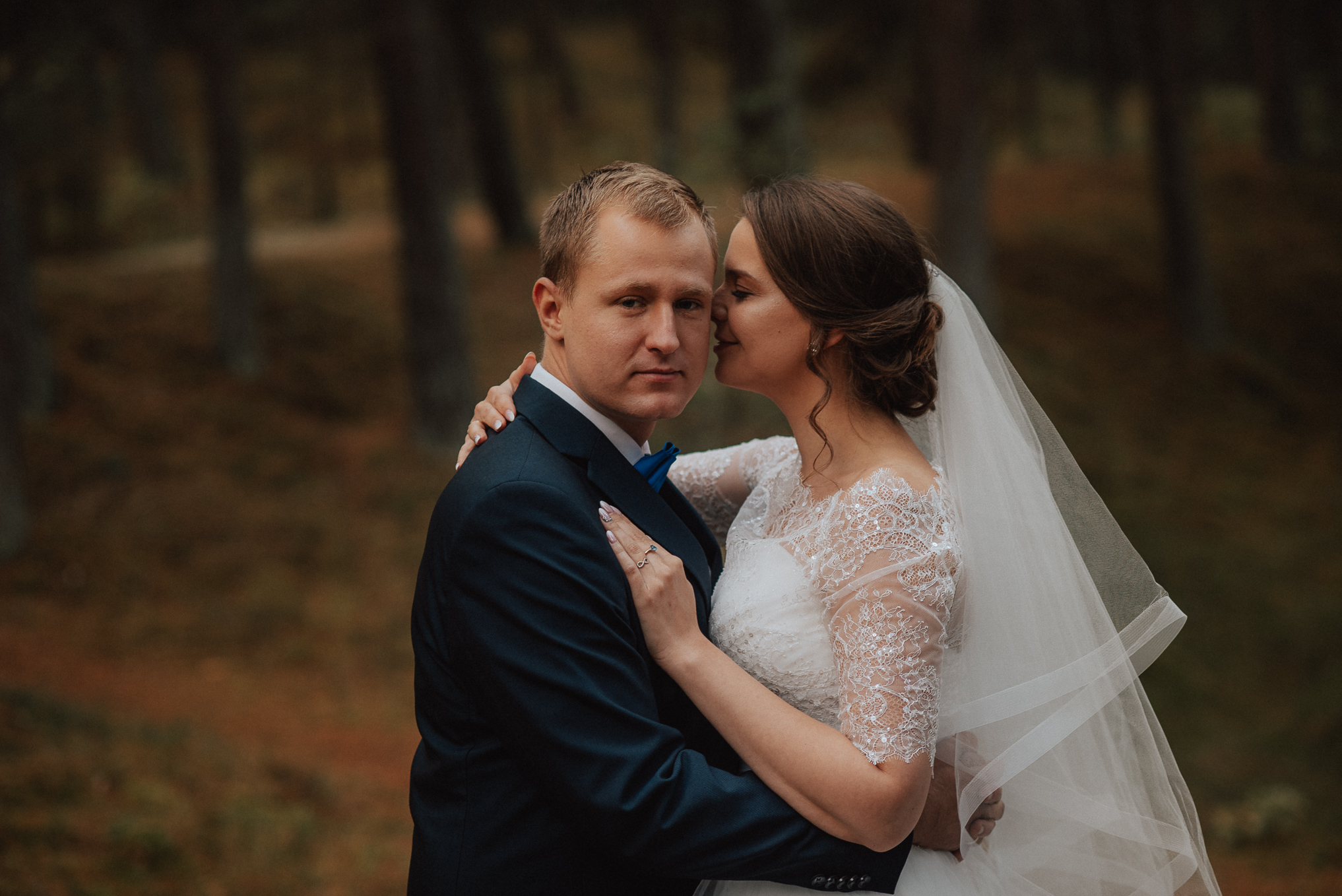 Leśna sesja ślubna 2