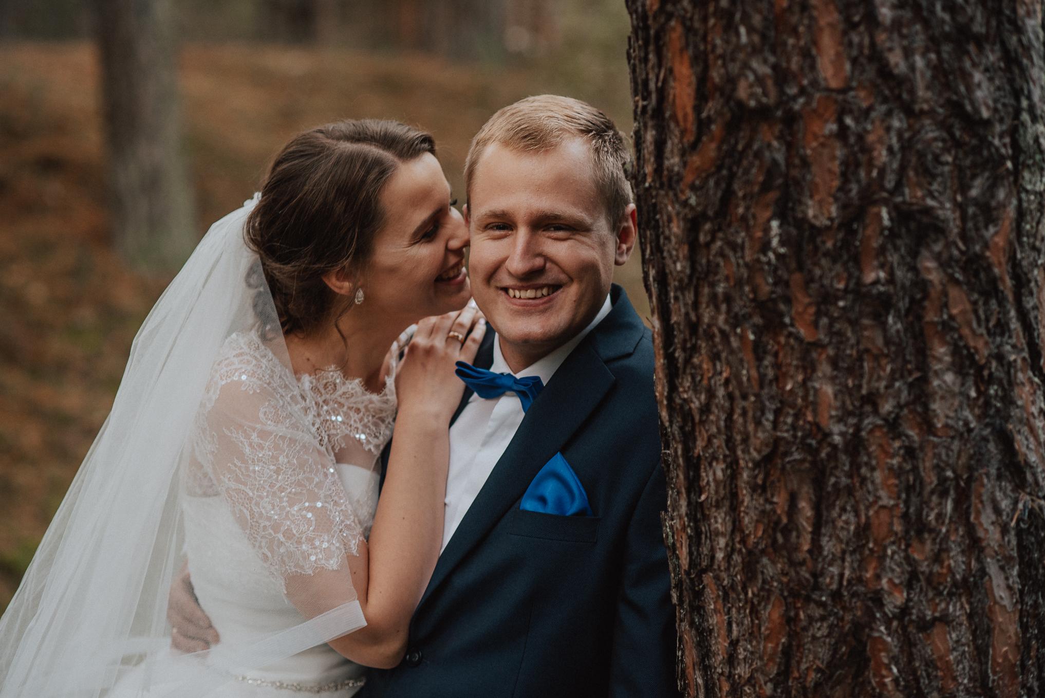 Leśna sesja ślubna 5
