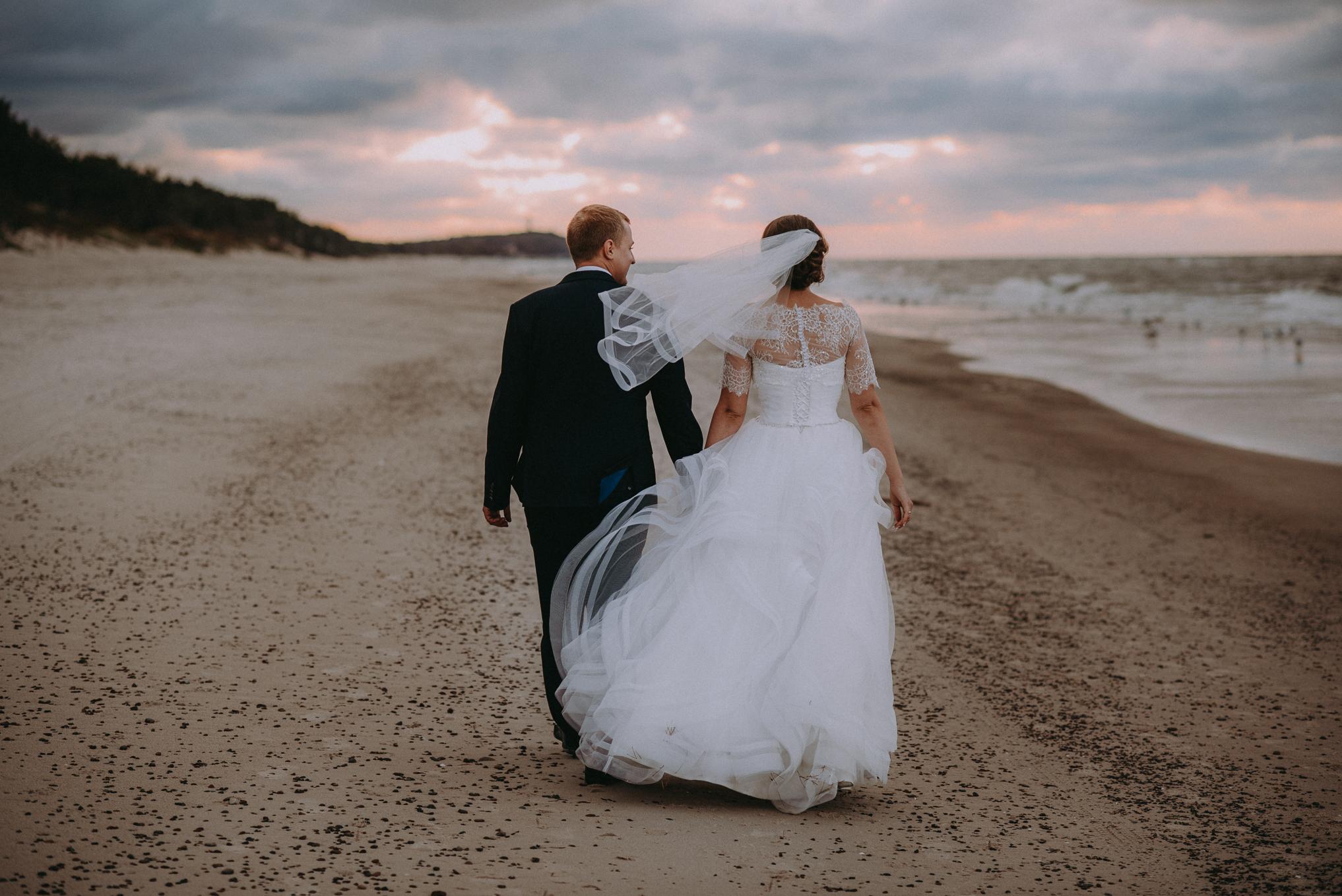 Sesja ślubna nad morzem 1