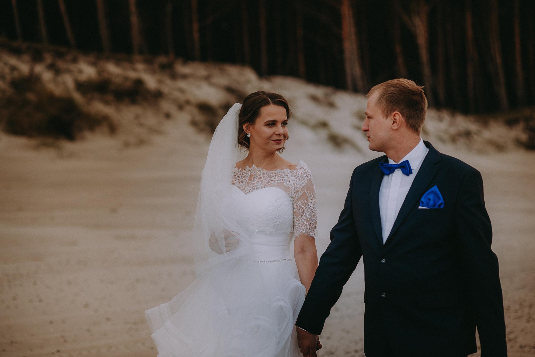 Sesja ślubna nad morzem 2