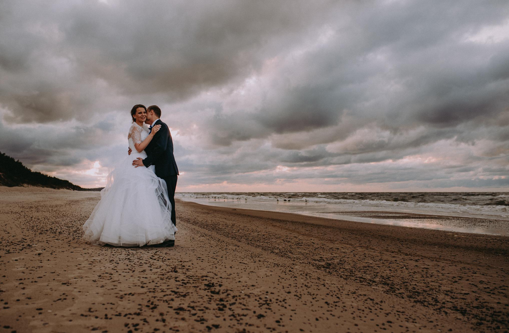 Sesja ślubna nad morzem 4