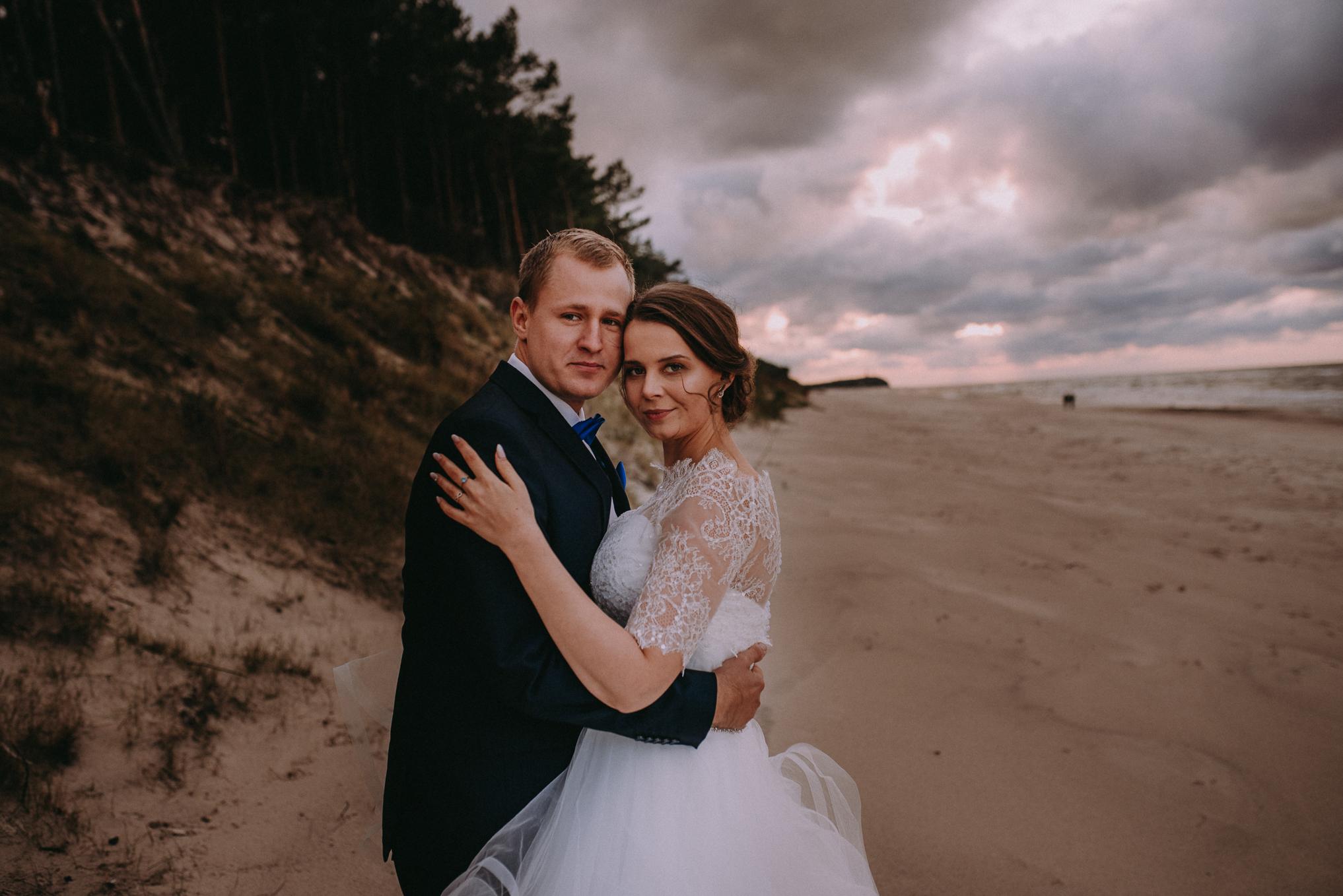 Sesja ślubna nad morzem 5