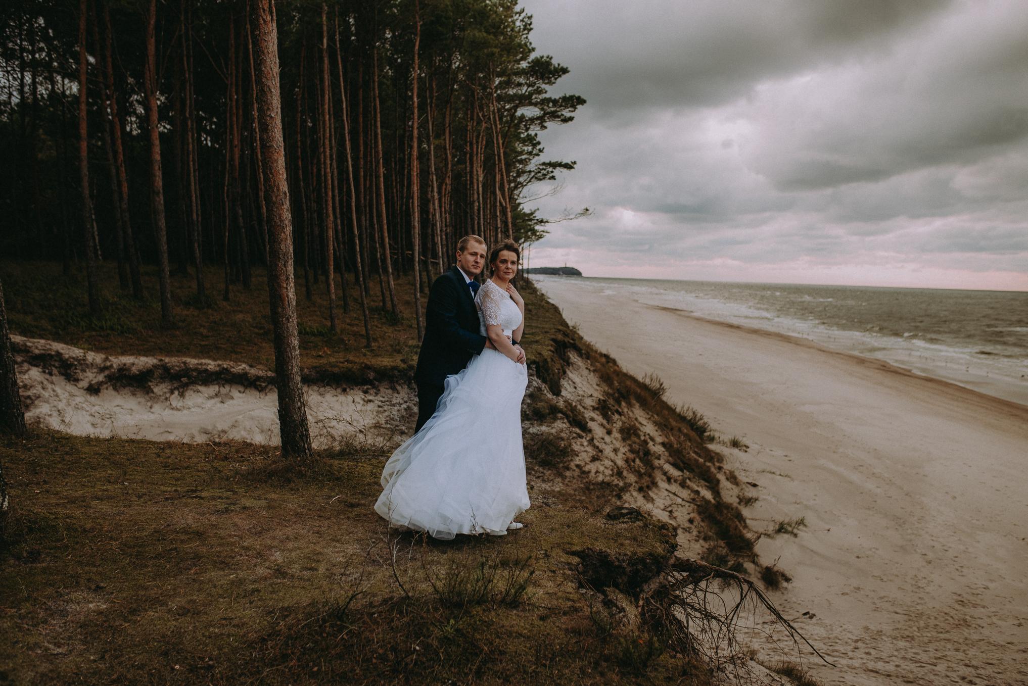 Sesja ślubna nad morzem 7